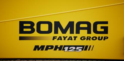 Bomag MPH125 Stabilisator