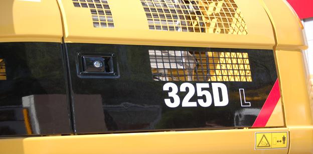 Caterpillar 325D Bagger Bilder