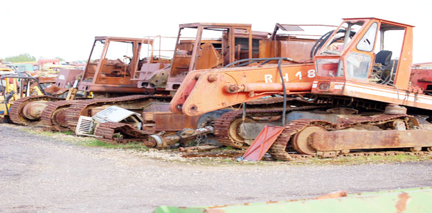 Baumaschinen Bagger Bilder Kettenbagger gebraucht O&K