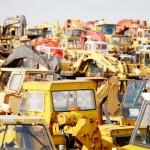 Baumaschinen Bilder Unfall Bagger