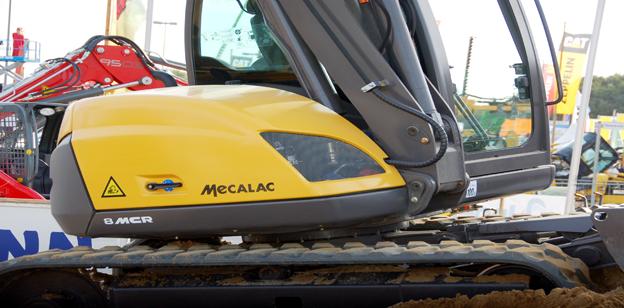 Bilder Mecalac 8MCR