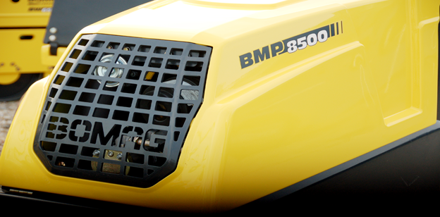 Bomag BMP8500 Trench Compactor Images