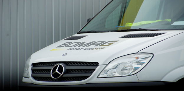 Bomag Service Truck