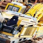 Gebrauchte Baumaschinen Bagger Ackermann H16