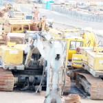 Gebrauchte Baumaschinen Hydraulikbagger Teile