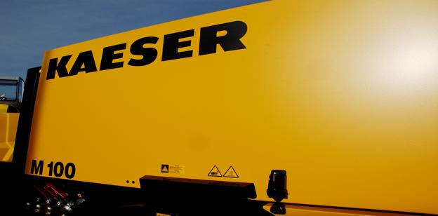 Schraupenkompressor Kaeser M100