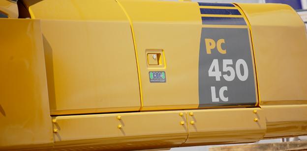 Abbruchbagger Komatsu PC450