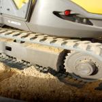 Rubber tracks Mecalac 8MCR