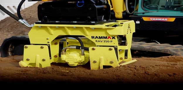Rüttelplatte Rammax Maschinenbau Metzingen