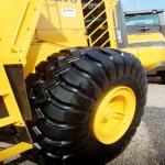 Neue Radlader Reifen