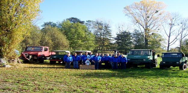 Ausflug Der Firma Pfeifer Baumaschinen nach Fürth im Odw