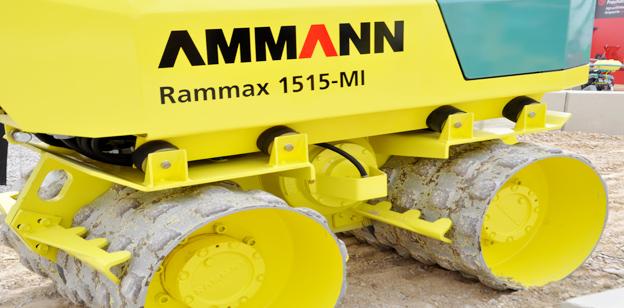 Ammann Rammax Baumaschinen