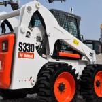 Bilder Baumaschinen Radlader Bobcat