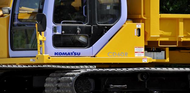 Gummiketten Komatsu Cd60R