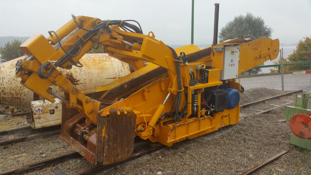 Atlas Copco 8HR 2- B Tunnelbagger zu verkaufen
