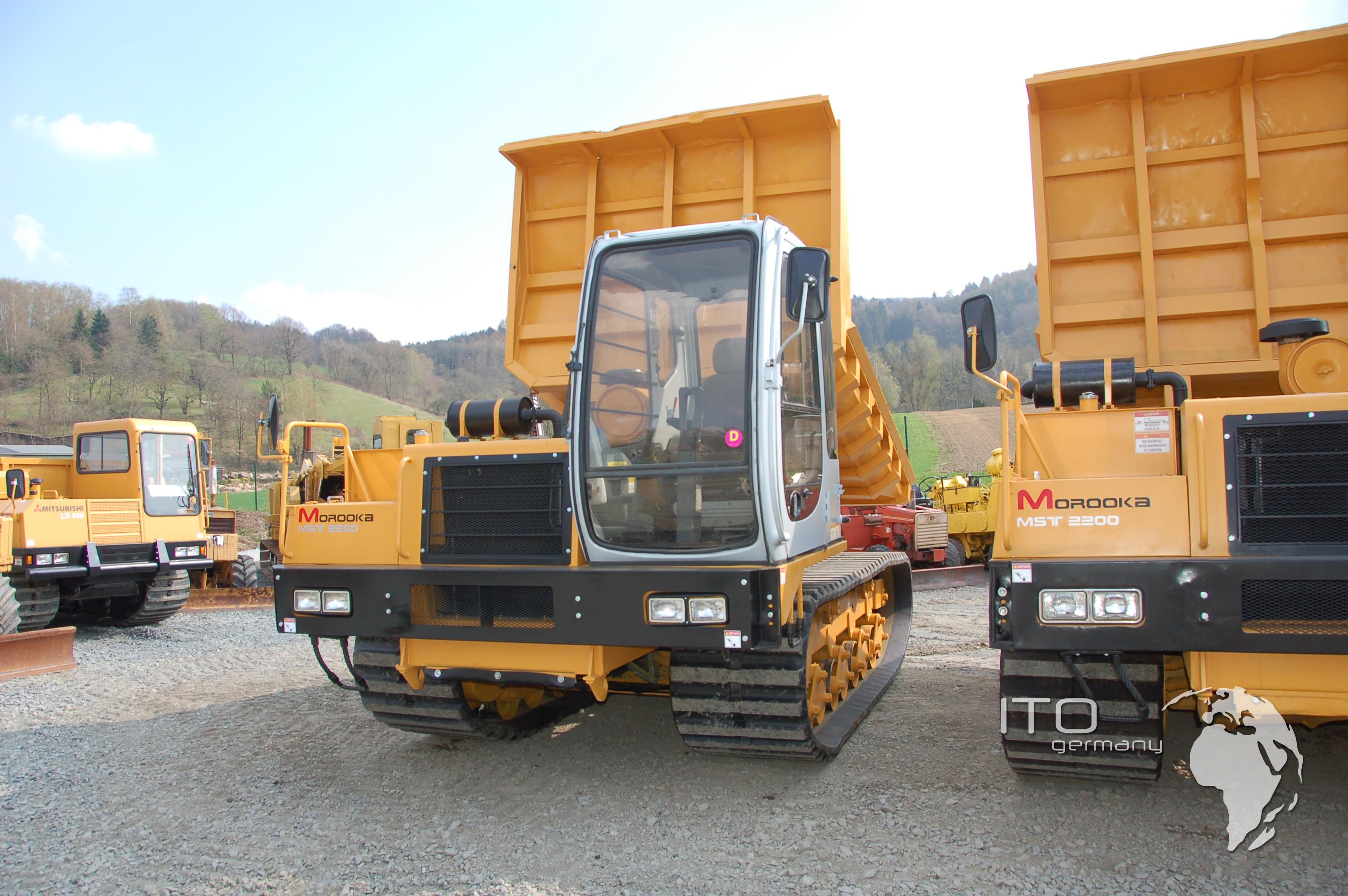 Gebrauchte Morooka MST2200 Vd aus Kettendumper mietpark